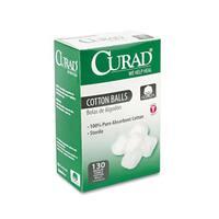Curad Sterile Cotton Balls (130 per box)