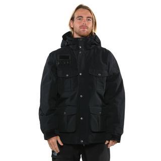 Pulse Men's Black Bomber Hooded Jacket