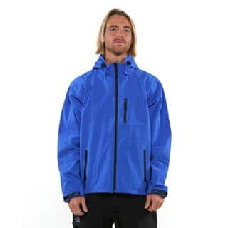 Pulse Men's Blue 2.5 Layer Alps Jacket|https://ak1.ostkcdn.com/images/products/9652628/P16835725.jpg?impolicy=medium