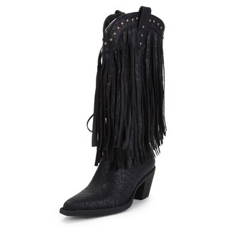 Women's 'Alley' Fringed Stud Boots