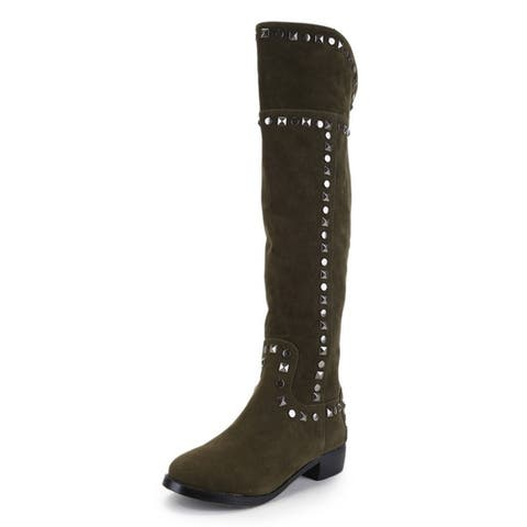 Women's 'Starline' Over-the-Knee Studded Boots