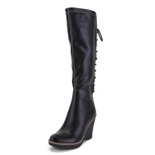 Ann Creek Women's 'Camuy' High Wedge Heels Boots