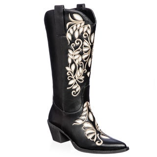 Ann Creek Women's 'Frio' Embroidered Western Boot
