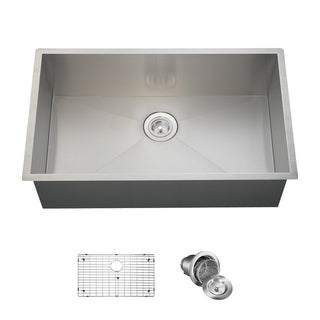 MR Direct 3322S Kitchen Ensemble Stainless Steel 90 Degree Sink