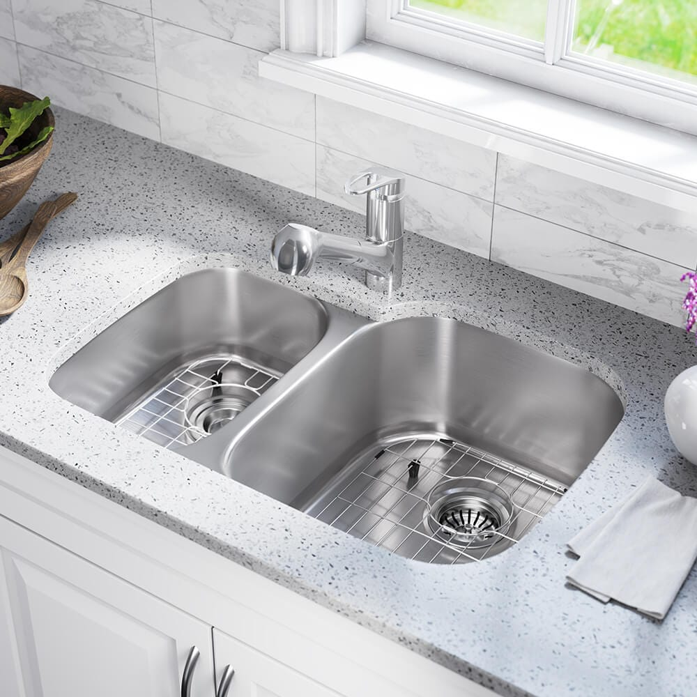 Details about 506L Stainless Steel Kitchen Sink, Cutting Board, Two Grids,