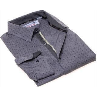 John Lennon Men's Grey and Black Sport Shirt|https://ak1.ostkcdn.com/images/products/9653275/P16836081.jpg?impolicy=medium