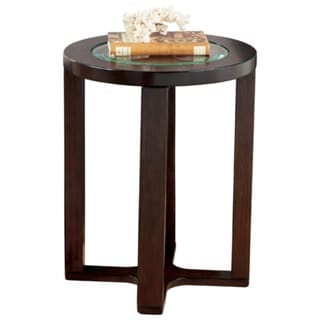 Signature Designs by Ashley 'Marion' Round Dark Brown End Table