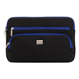 Griffin Carrying Case for Notebook - Black, Blue