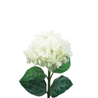 32-inch Cream White Hydrangea Stem (Set of 12)
