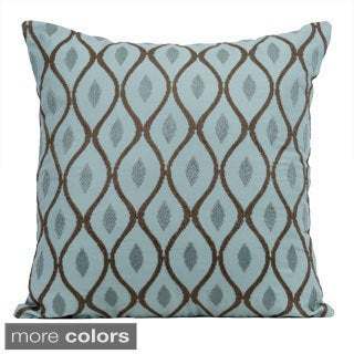 Aesthetic 20-inch Feather Filled Throw Pillow