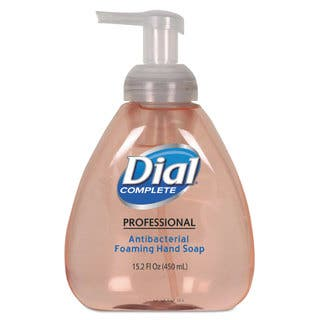 Dial Professional Antimicrobial Foaming Hand Soap, Original Scent, 15.2oz, 4/Carton|https://ak1.ostkcdn.com/images/products/9653530/P16836274.jpg?impolicy=medium