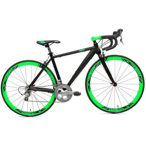 RapidCycle Grand 20-speed Unisex Road Bike with Shimano Groupset (2 Size Options)