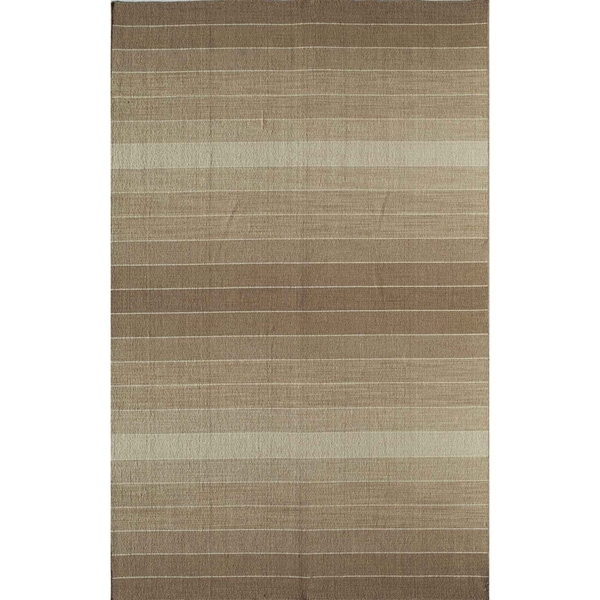 Hand-woven Skylar Brown Rug (5' x 8')