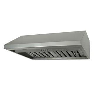 Kobe Brillia OVS-CHX7930SQB-40 30 Inch Under Cabinet Stainless Steel Range Hood
