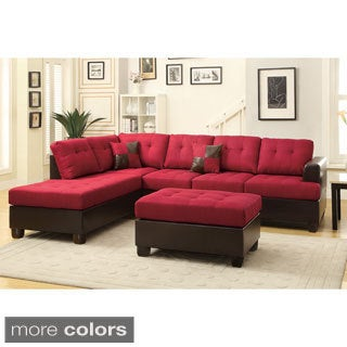 Hamar Sectional with Matching Ottoman & Pillows