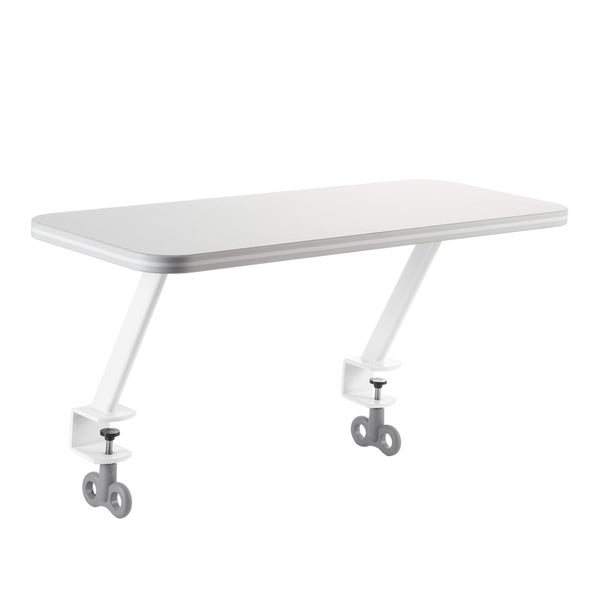 White Attachable Shelf for TCT Nanotec Desks
