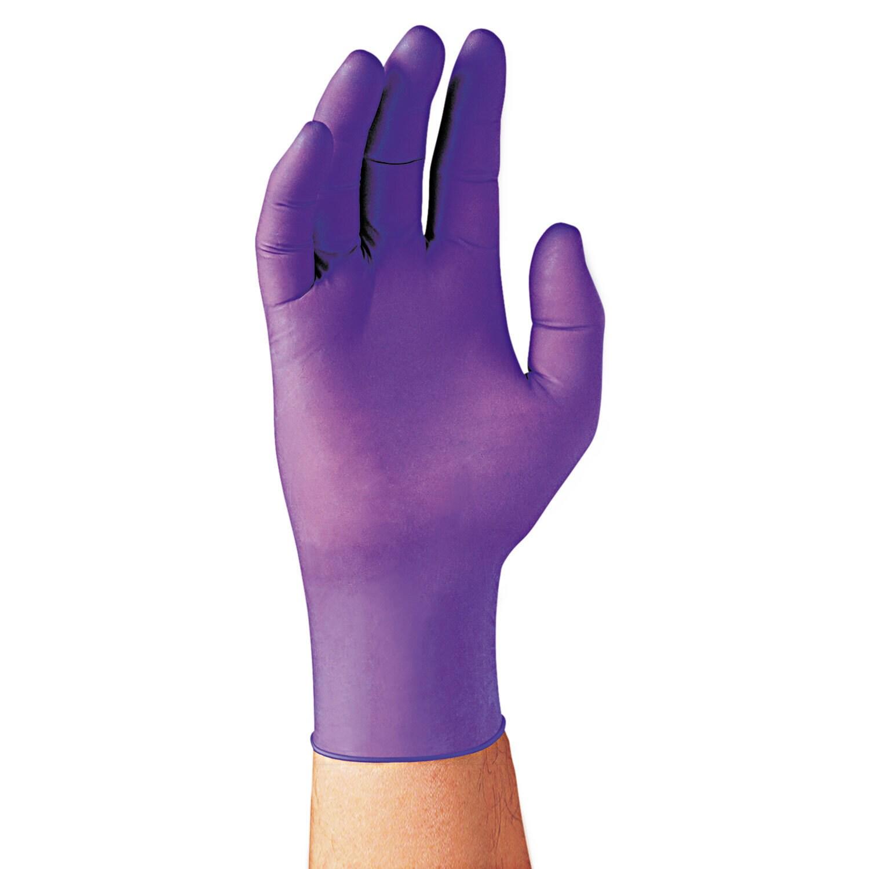 Kimberly-clark Professional* Purple Nitrile Exam Gloves, ...