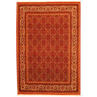 Herat Oriental Indo Hand-knotted Persian Bidjar Wool Rug (5'6 x 8')