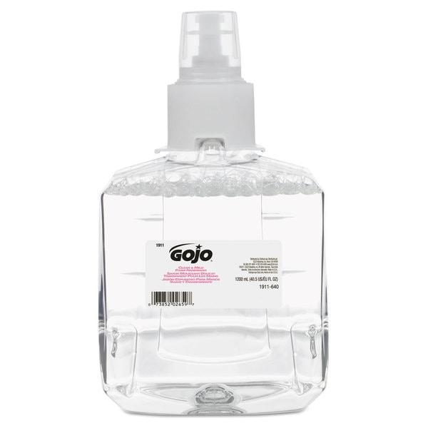 GOJO Clear & Mild Foam Handwash Refill, Fragrance-Free, 1200mL Refill, 2/Carton