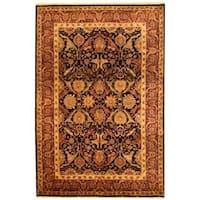 Handmade Herat Oriental Indo Mahal Wool Rug  - 6' x 8'8 (India)
