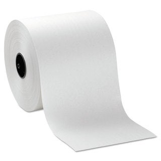 Georgia Pacific Professional Hardwound Roll Paper Towels, 7 4/5 x 1000ft, White, 6 Rolls/Carton