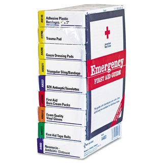 First Aid Only Ansi Compliant 10 Person First Aid Kit Refill (63-pieces)