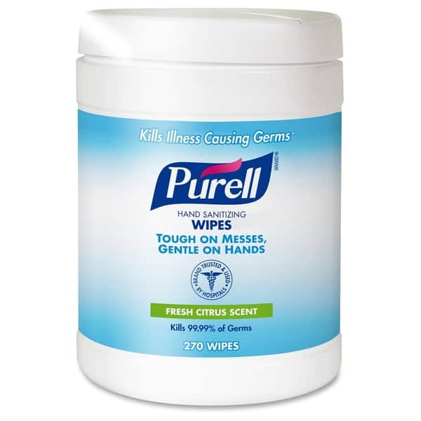 Shop PURELL Sanitizing Hand Wipes, 6 x 6 3/4