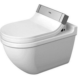 Duravit Toilet Wall Mounted Starck 3 Whitewashd Durafix2 For Sensowash C White