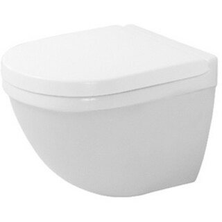 Duravit Toilet Wall-mounted Starck 3 Comp White Durafix For Concealed Fixation White