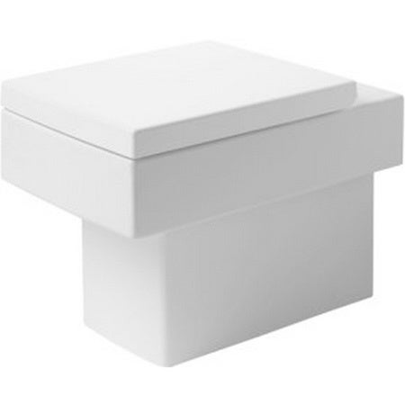 duravit toilet floor standing 22 5 inch vero white hori. Black Bedroom Furniture Sets. Home Design Ideas