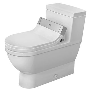 Duravit One-piece Toilet Starck 3 White with Mech Siphon Jet Elong Het/Gb For Sensowash C White