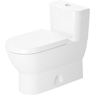Duravit One Piece Toilet Darling New with Single Flush Piston Valve Ready For Sensowash Temp