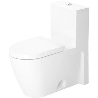Duravit One-piece Toilet Starck 2 White with Mech Siphon Jet Elong Het For Sensowash C White