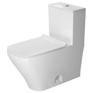 Duravit Durastyle One-piece Toilet 12-inch Rough Dual Flush 14.63-inch x 28.38-inch Temp