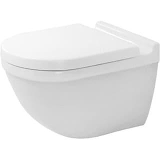 Duravit Toilet Wall Mounted Starck 3 White Washdown Durafix 2 White