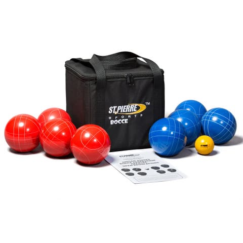 St. Pierre Sports Bocce Set with Nylon Carry Bag
