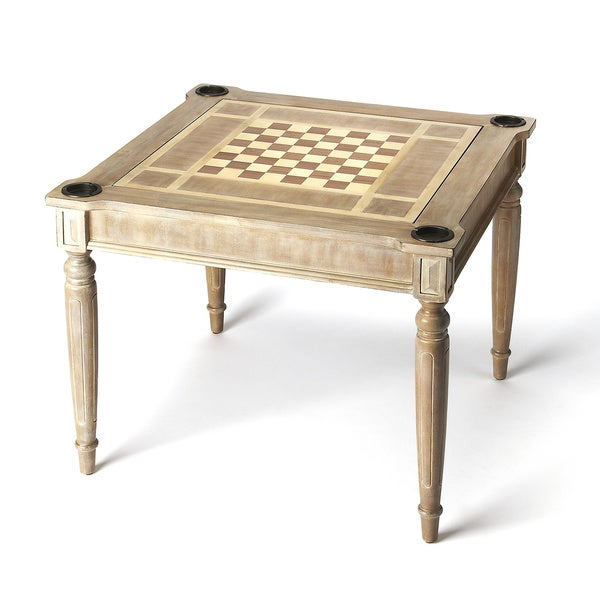 Delicieux Butler Transitional Square Multi   Game Card Table   Gray