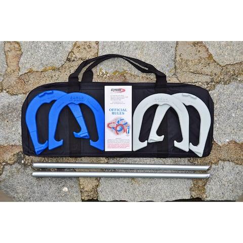 St. Pierre Sports Eagle Tournament Horseshoe Set with Nylon Bag