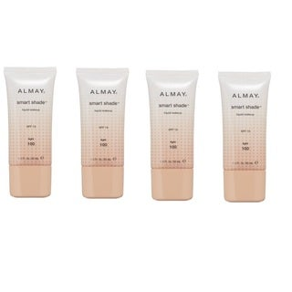 Almay Smart Shade Liquid Make-up Light 100 (Pack of 4)