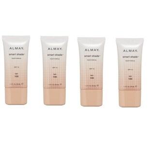 Almay Smart Shade Liquid Make-up Light 100 (Pack of 4)