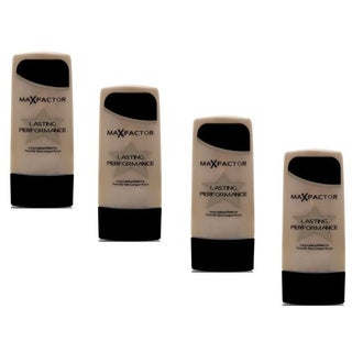 Max Factor Lasting Performance Make-up Ivory Beige 101 (Pack of 4)