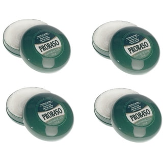 Travel Size Proraso Shaving Soap with Eucalyptus Oil and Menthol 25-ounce (Pack of 4)