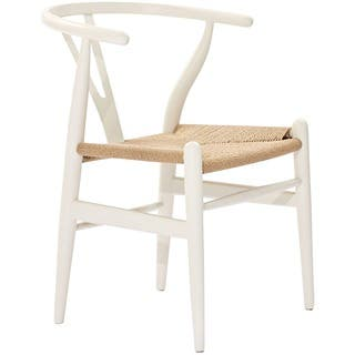 Poly and Bark Weave Chair