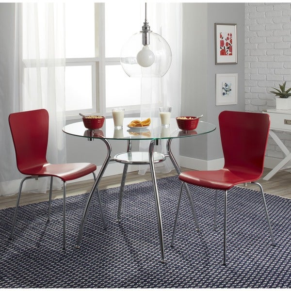 Simple Living 3 Piece Itza Dining Set Free Shipping Today 16837056