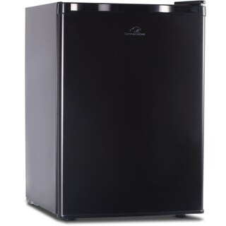 Black Commercial Cool 2.6 cu.ft. Refrigerator/ Freezer
