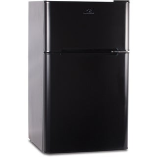 Commercial Cool Black 3.2 cu.ft 2-door Refrigerator/ Freezer