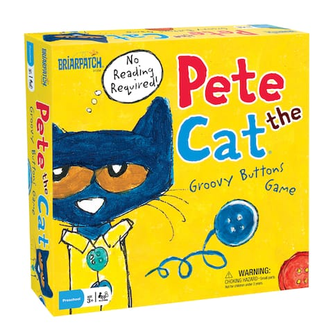 Pete the Cat Groovy Buttons Game - Yellow