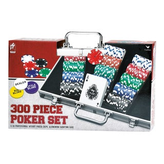 300 Piece Poker Set in Aluminum Carrying Case