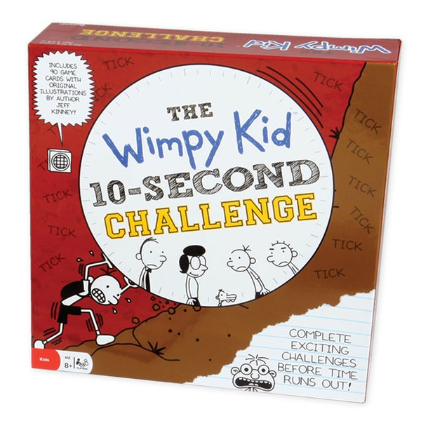 Diary of a Wimpy Kid 10-Second Challenge Game