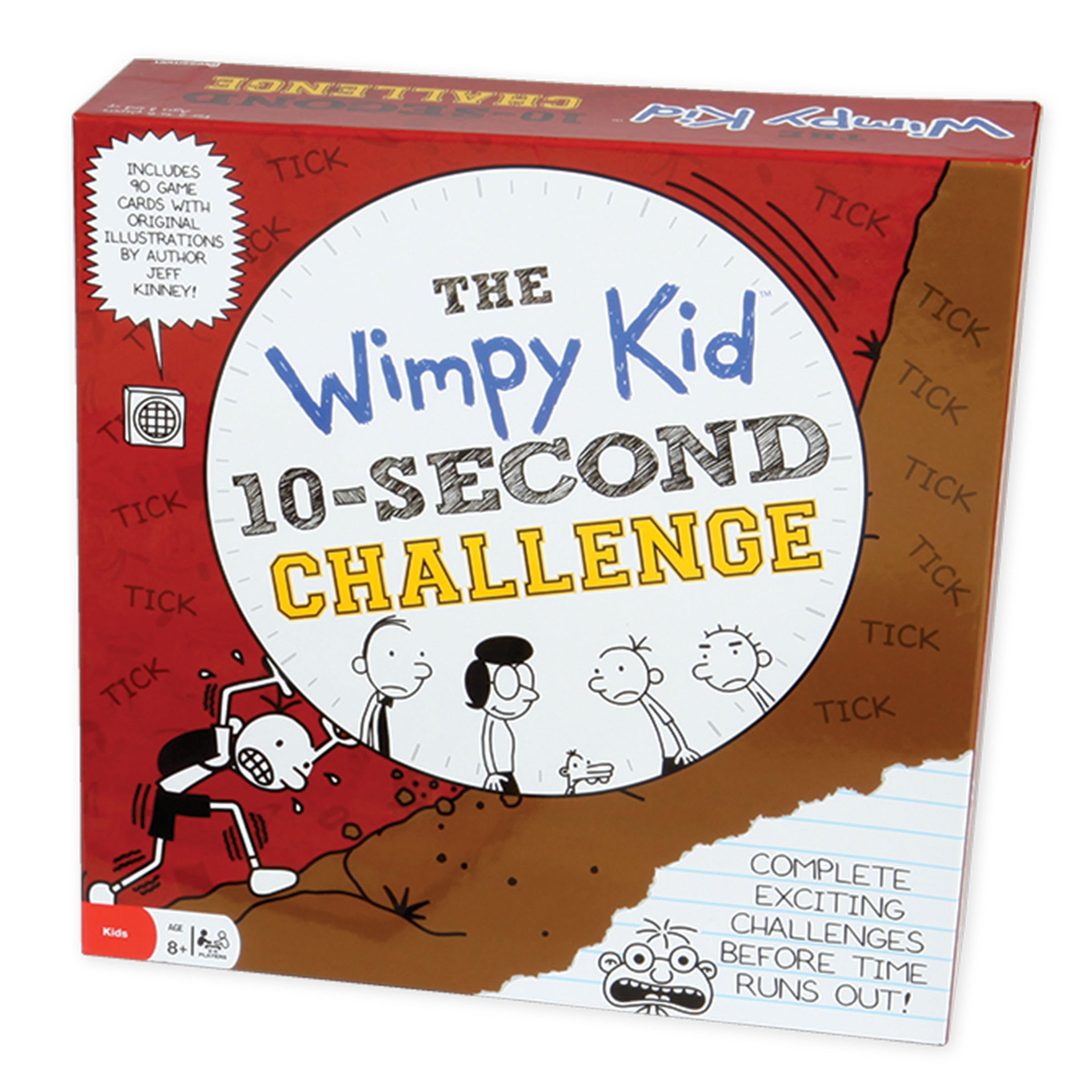 Pressman Toy Diary of a Wimpy Kid 10-Second Challenge Gam...